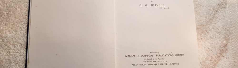 Design and Construction of Flying Model Aircraft by D.A. Russell