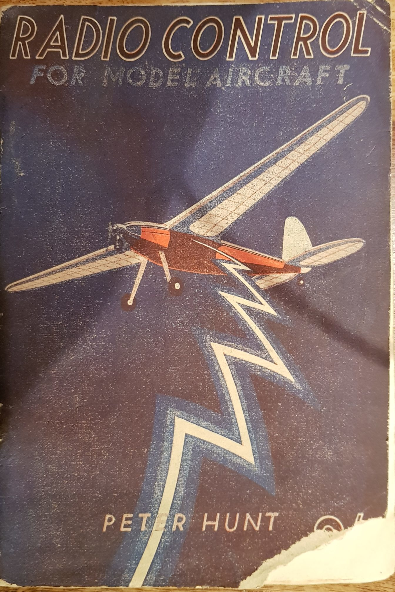 Radio Control for Model Aircraft By P. Hunt