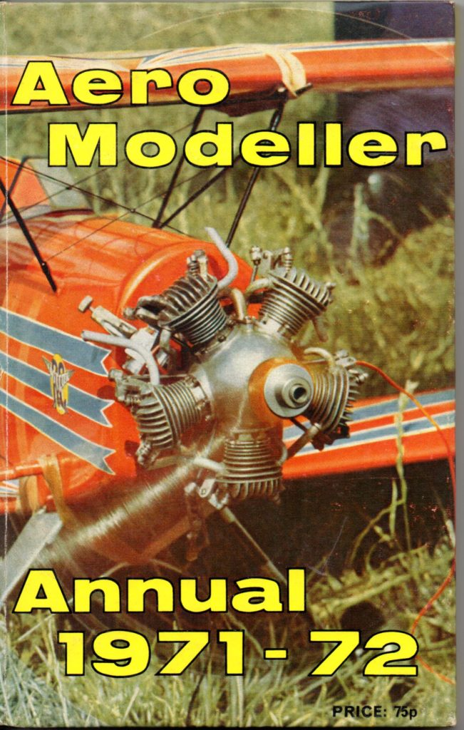 Aeromodeller Annual 1971-72 by DJ Laidlaw-Dickson and R G Moulton