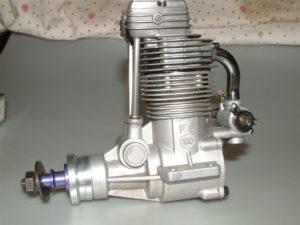 FS 120 OS Model Aero Engine four stroke glow