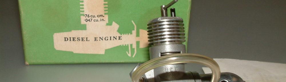 DC Merlin .76cc diesel NIB