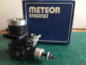 Meteor 60 Glow R/C Boxed