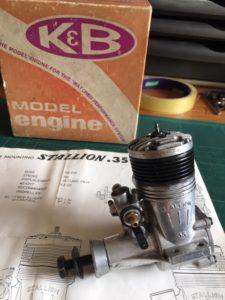 K&B Stallion Sport 35 LNIB