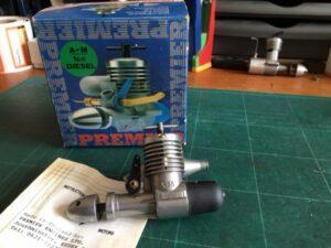 AM 10 1cc diesel R/C Boxed
