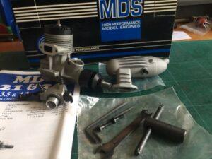 MDS 3.5 R/C ABC Glow NIB